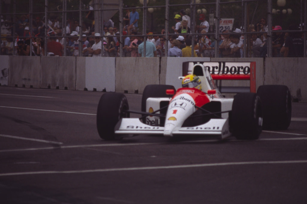 Ayrton Senna photo