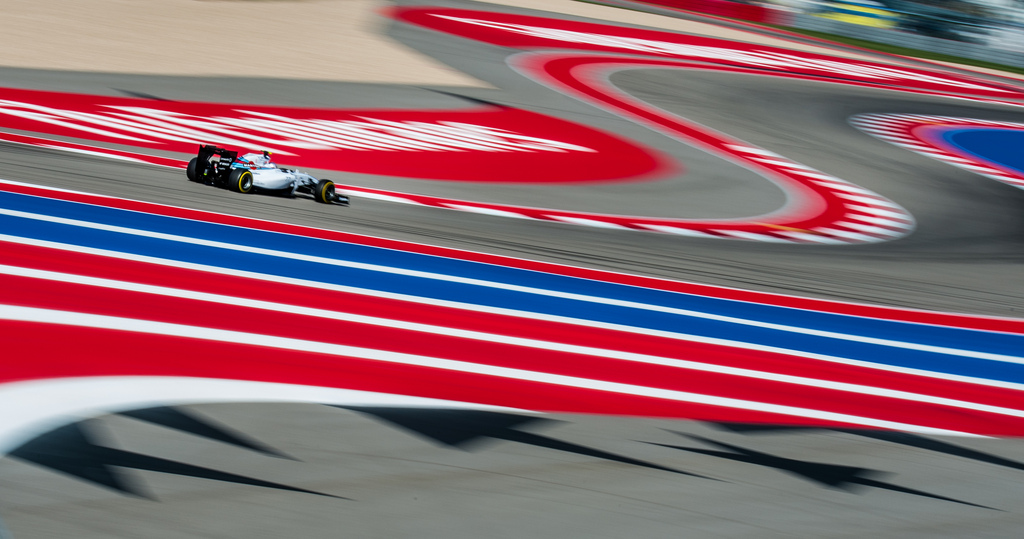 Valtteri Bottas in the CoTA S-Curves