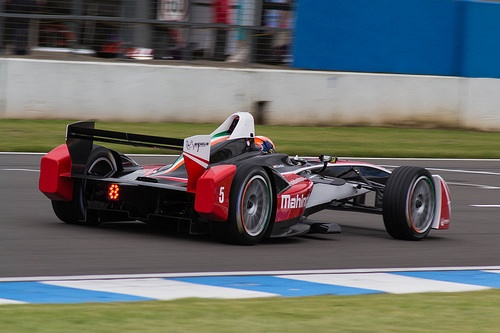 Mahindra racing photo