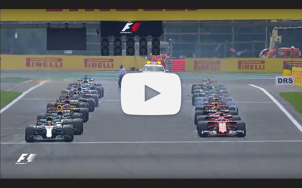 動画》F1ベルギーGP 2017《決勝...