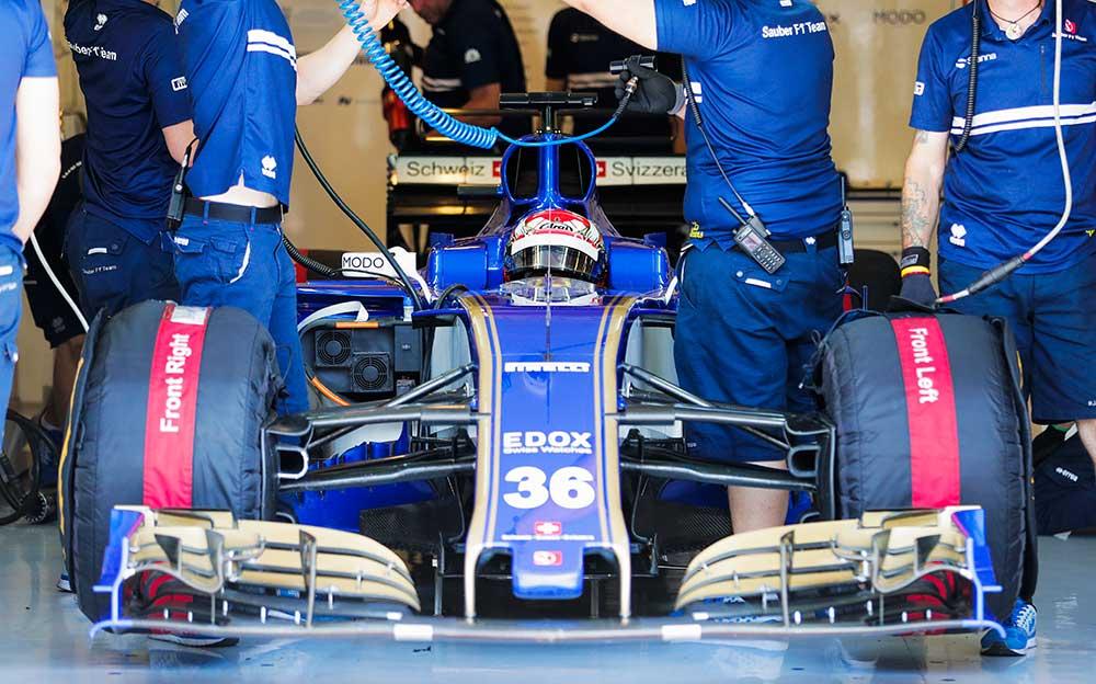 松下信治 F1テストレポート「全力でタイム計測すれば1秒は速く走れた」スーパーフォーミュラの走行経験活かす