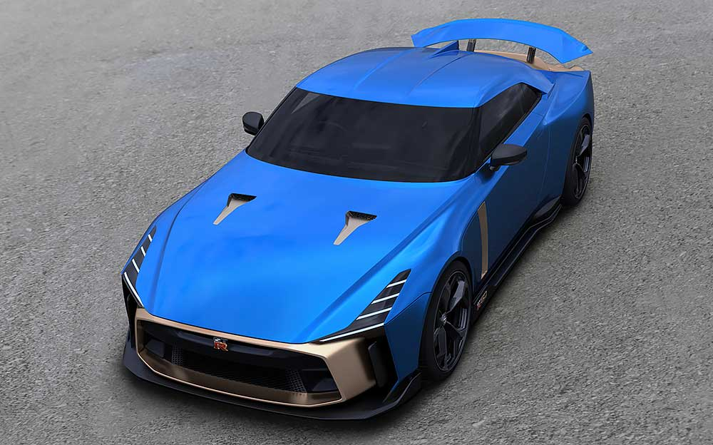 Nissan GT-R50 by Italdesign 上部